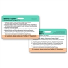 OT PT Consult Guidelines Horizontal Badge Card