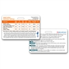 Ventilator Management Horizontal Badge Card (Pd/Bulk Version) - Laminated