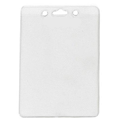 Standard Flexible Vinyl Vertical Badge Holder