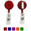 Translucent Badge Reel w/ Swivel Clip