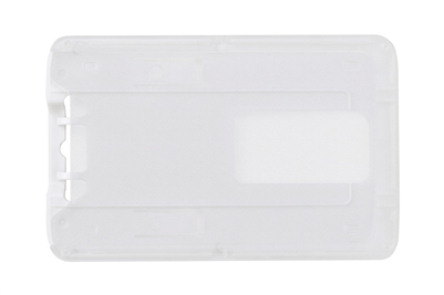 White Rigid Plastic Vertical Holder