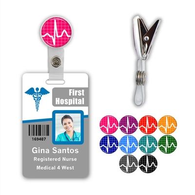 EKG Badge Clip