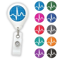 EKG Design Badge Reel