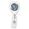 Blue Party Badge Reel