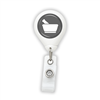 Pharmacy Mortar & Pestle Badge Reel