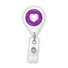Heart EKG Badge Reel