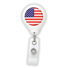 US Flag Badge Reel