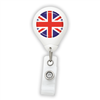 UK Flag Badge Reel