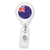 New Zealand Flag Badge Reel