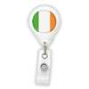 Ireland Flag Badge Reel