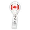 Canada Flag Badge Reel