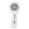 Less Monday More Coffee Badge Reel