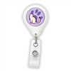 Cat Paw Badge Reel