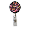 Butterflies Heavy Duty Steel Cord Badge Reel