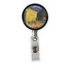 Van Gogh Cafe at Night Heavy Duty Steel Cord Badge Reel