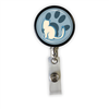 Cat Paw Heavy Duty Steel Cord Badge Reel