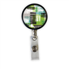 Green Zebra Heavy Duty Steel Cord Badge Reel