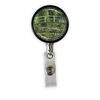 Monet Japanese Footbridge Heavy Duty Steel Cord Badge Reel