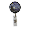 Starry Night Heavy Duty Steel Cord Badge Reel