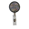 Monet Water Lilies Heavy Duty Steel Cord Badge Reel