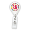 Colorful RN Badge Reel