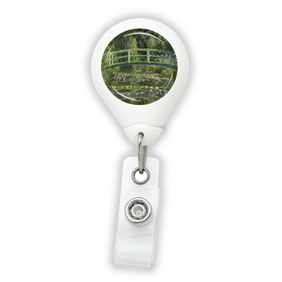 Monet The Japanese Footbridge Badge Reel
