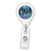 Blue CNA Badge Reel