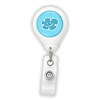 Happy Blue Cloud Badge Reel