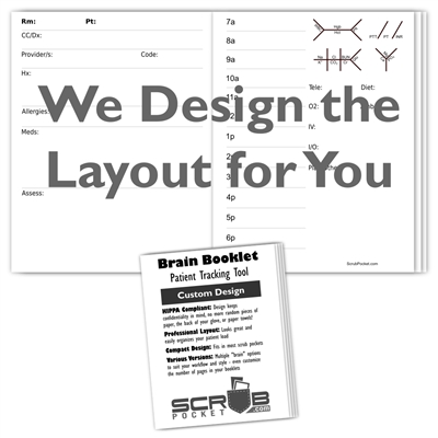Brain Booklets - Custom Designed