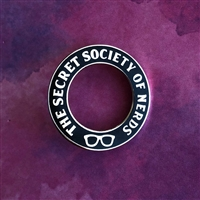 The Secret Society of Nerds Pin