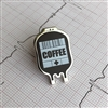 Coffee IV Stat Pin