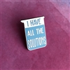 All the Solutions Pin