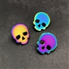 Anodized Skull Pin