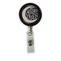 Night Shift Heavy Duty Steel Cord Badge Reel