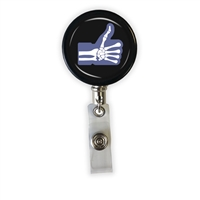 Skeleton Like Heavy Duty Steel Cord Badge Reel