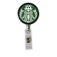 Radioactive Coffee Heavy Duty Steel Cord Badge Reel