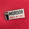 Mordor Clinic Pin