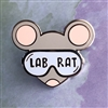 Lab Rat Pin