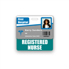 REGISTERED NURSE Badge Buddy Horizontal Standard Size