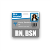 RN, BSN Badge Buddy Horizontal Standard Size