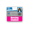 Nursing Student Badge Buddy Horizontal Standard Size