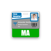 MA Badge Buddy Horizontal Standard Size