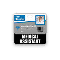 MEDICAL ASSISTANT Badge Buddy Horizontal Standard Size