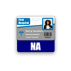 NA Badge Buddy Horizontal Standard Size