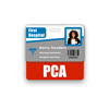 PCA Badge Buddy Horizontal Standard Size