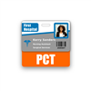 PCT Badge Buddy Horizontal Standard Size