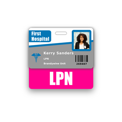 LPN Badge Buddy Horizontal Standard Size