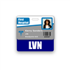 LVN Badge Buddy Horizontal Standard Size