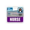 NURSE Badge Buddy Horizontal Standard Size