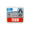 TECH Badge Buddy Horizontal Standard Size